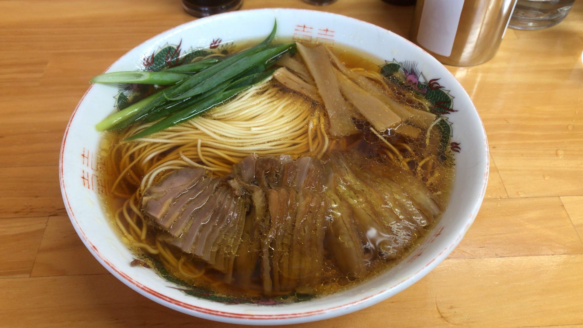 井原市役所すぐ近く 中華そば専門店 笠北で食べた笠岡ラーメンは、庶民的な味の中に深みと美しさがある!