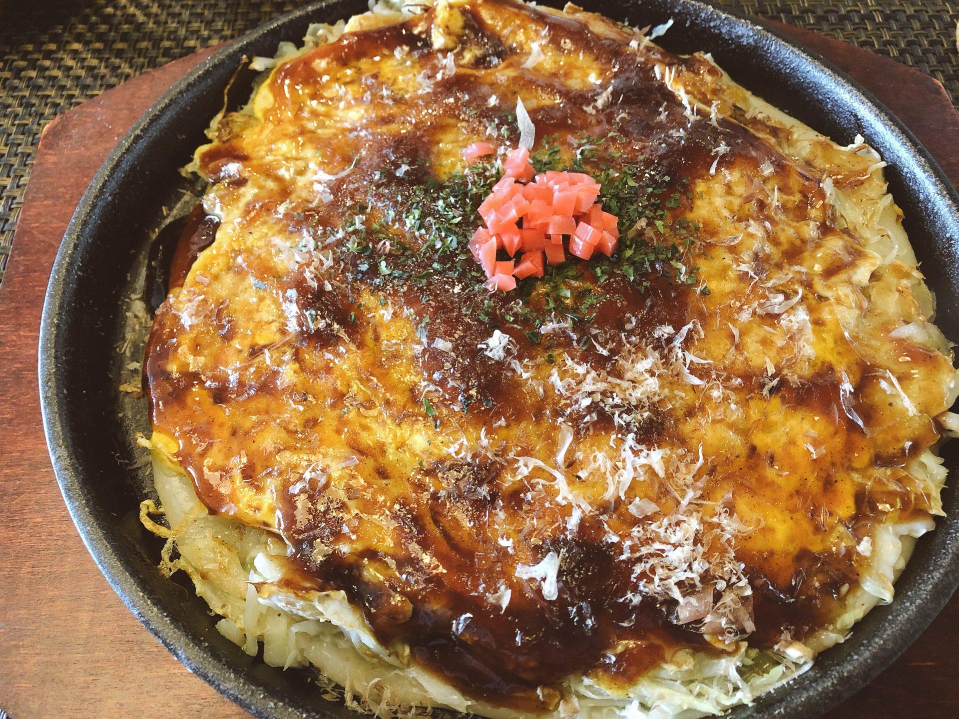 一年半前に岡山市中区にオープンした 食彩家 みゆ のランチはお好み焼だけじゃない!