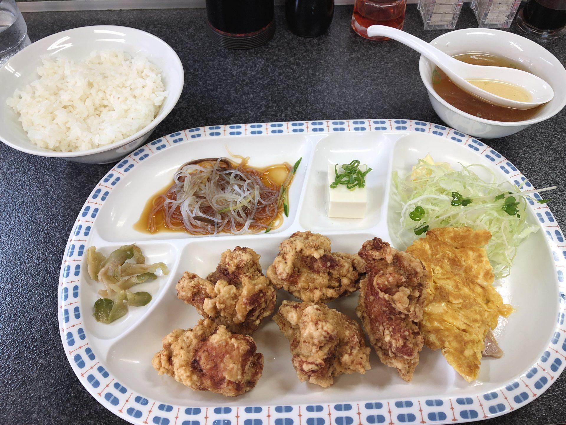 倉敷市藤戸町天城の中華料理 味富来(あじふく)!昼定食メニューは、ガッツリとランチを食べたい時におススメ!