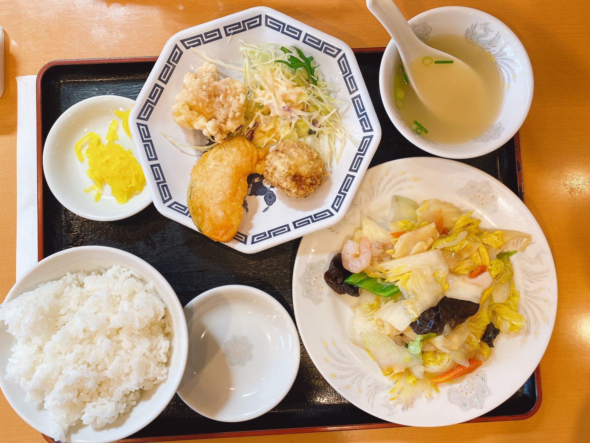 大元駅から徒歩7分 中華料理 香徳園のランチがとにかく美味しい!開店と同時に満席になる人気の秘密は早さとボリュームも!