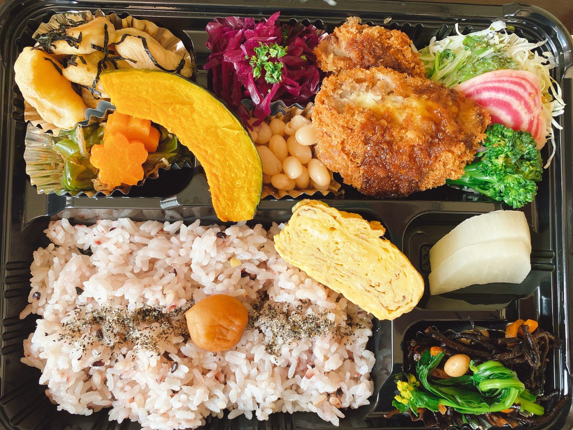【岡山市東区のテイクアウト】西大寺駅から車で約2分+徒歩2分 カフェギャラリー茶蔵の野菜中心のランチをテイクアウト!