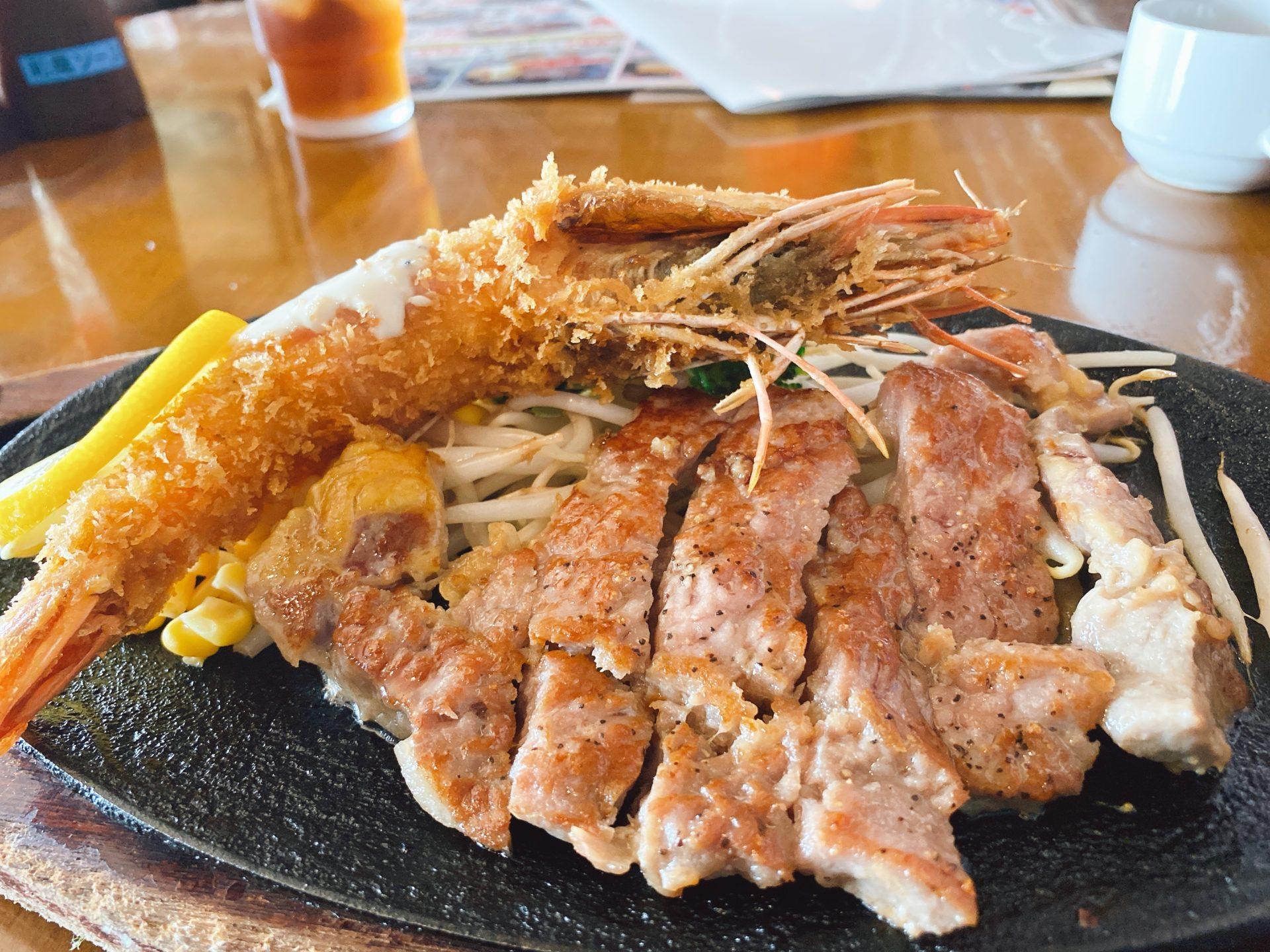 岡山市東区 平島交差点から北に車で2分 洋食の店【レストラン ベルク】のランチは衝撃の500円メニューが有り、ステーキもコスパ良し!