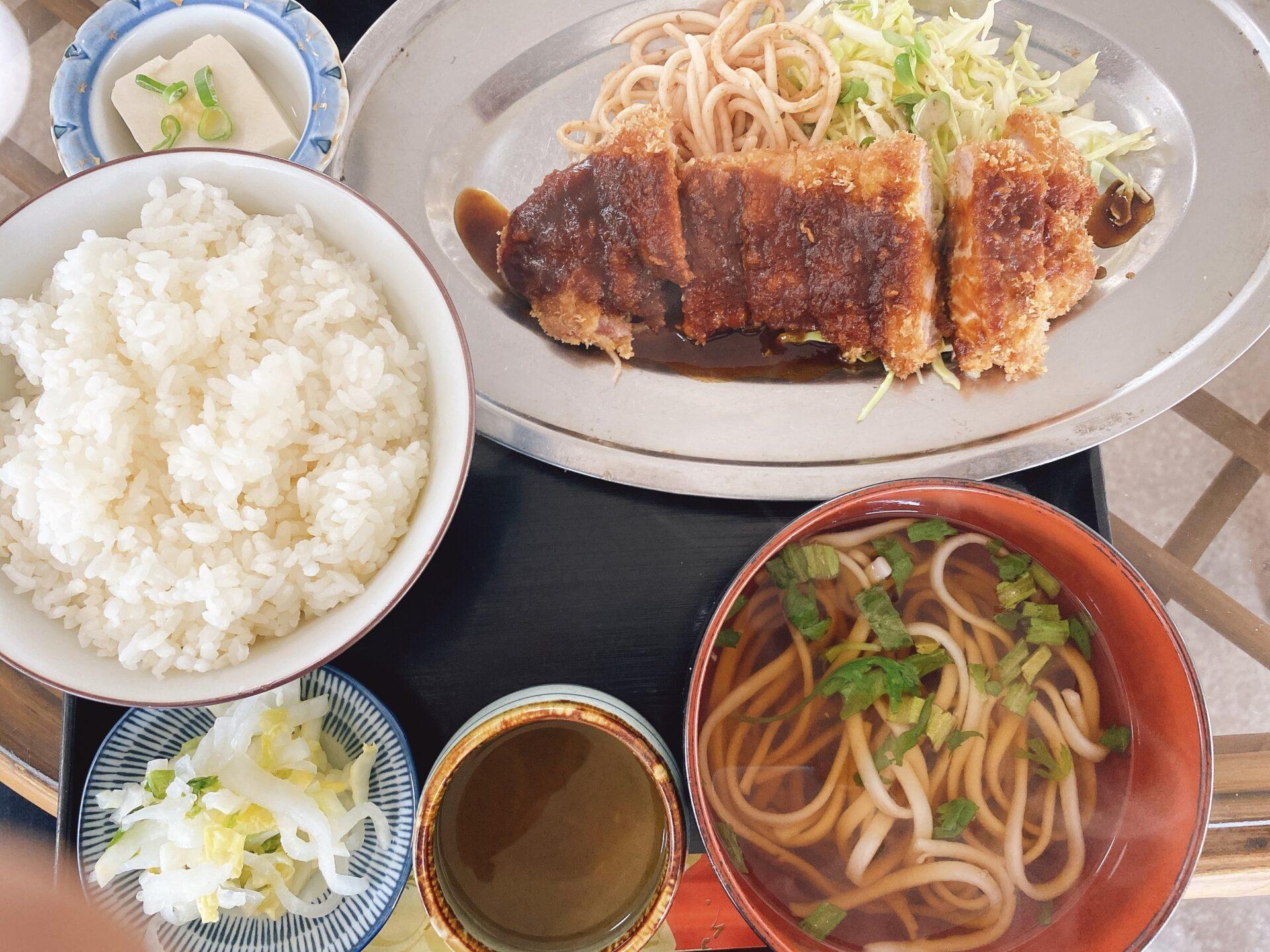 西大寺駅から車で7分【和風レストラン みやけ】はランチの穴場かも!コスパ・味・量にもナットクで、トンカツ定食が美味い!