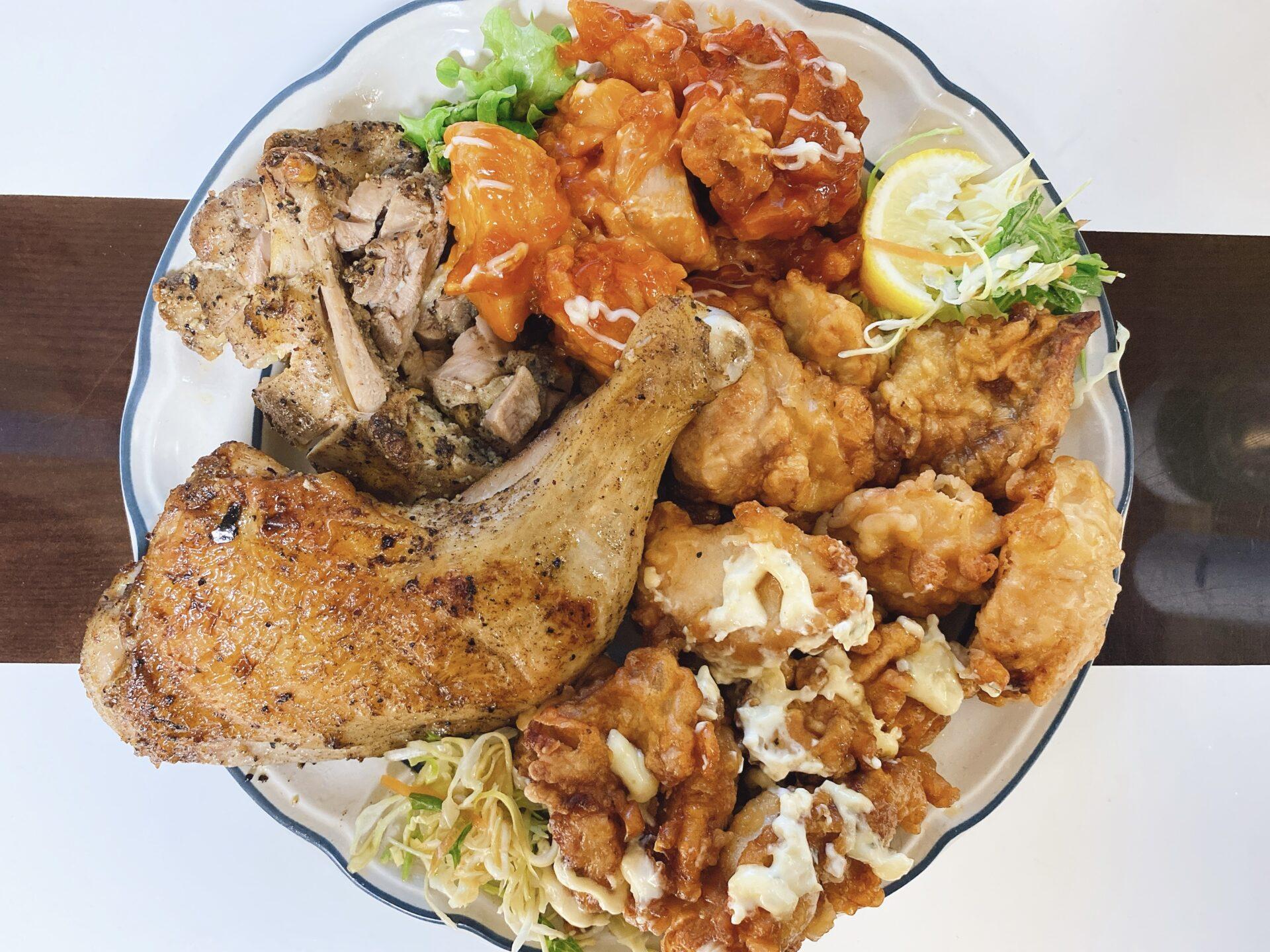 【岡山市南区のテイクアウト】鶏料理専門店 骨付鳥 パチャマンカの持ち帰りメニューが好物の茶色系オンパレード!