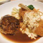 岡山市役所スグ近く【洋食 キッチン かもめ】ランチで食べた肉々しいハンバーグが本当に肉々しくて美味い!