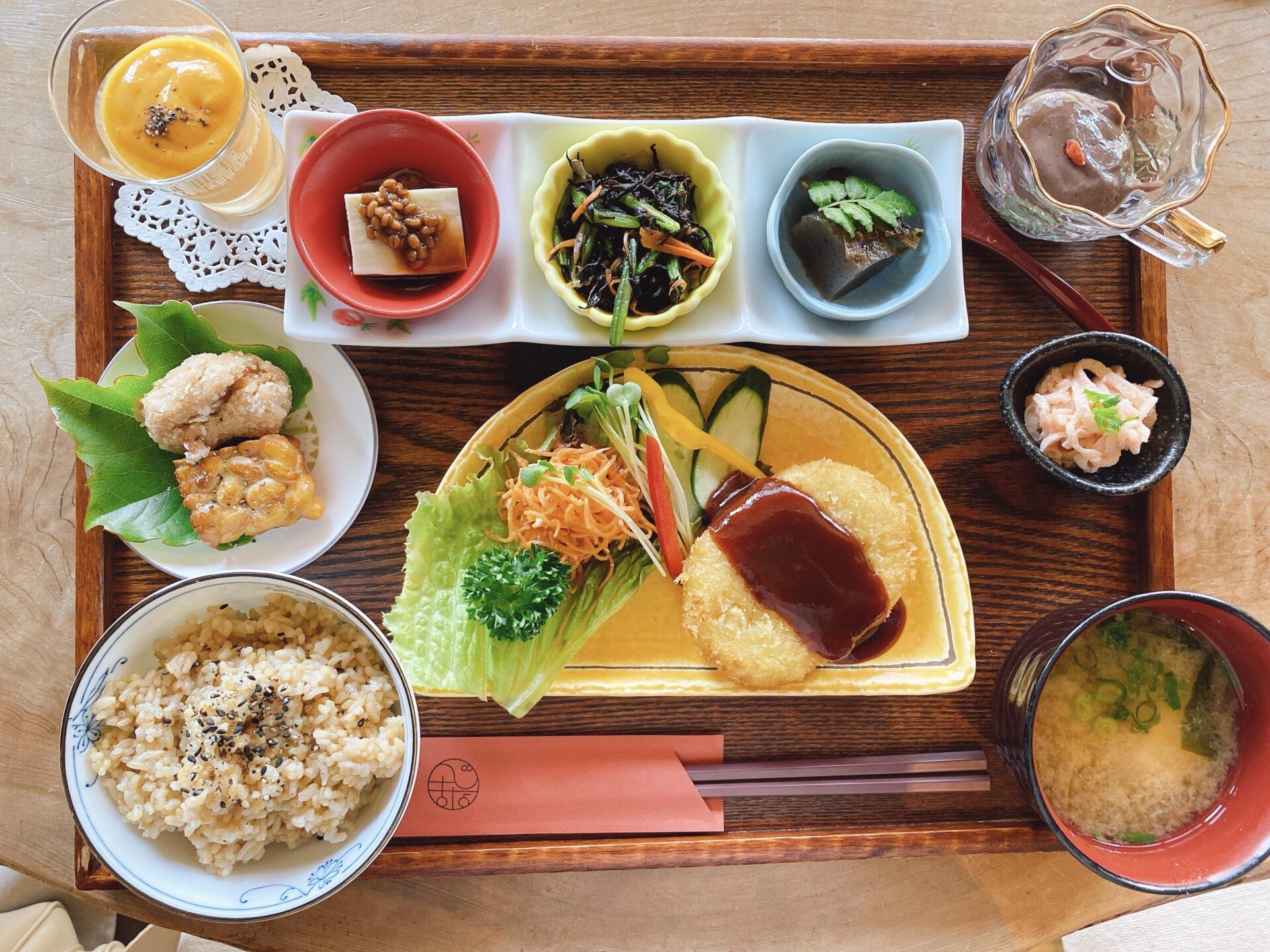 岡山の古民家カフェまとめ 品数多いこだわりのランチが素敵な空間で食べられるお店!