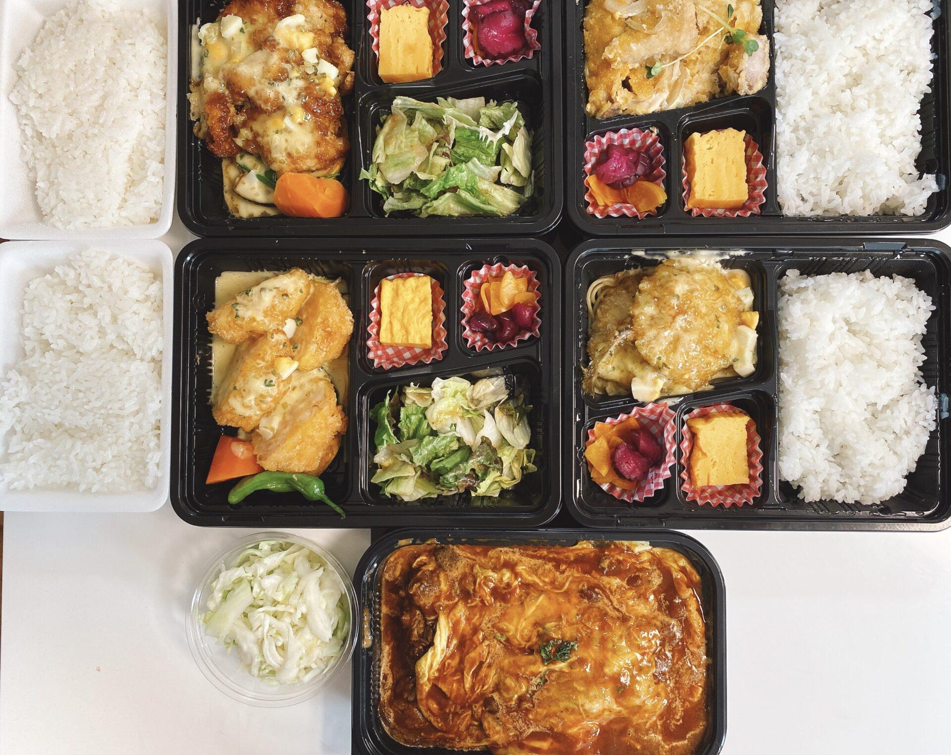 【岡山市南区のテイクアウト】洋食カフェ もみじ堂の持ち帰り弁当がイケる!えびかつ弁当、チキン南蛮弁当、オムえびめしが美味い!