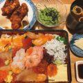 岡山市北区【淡路キッチン とりぶ】ランチタイムに淡路鶏重と土日限定の海鮮重!インスタフォロワーには珈琲サービス!