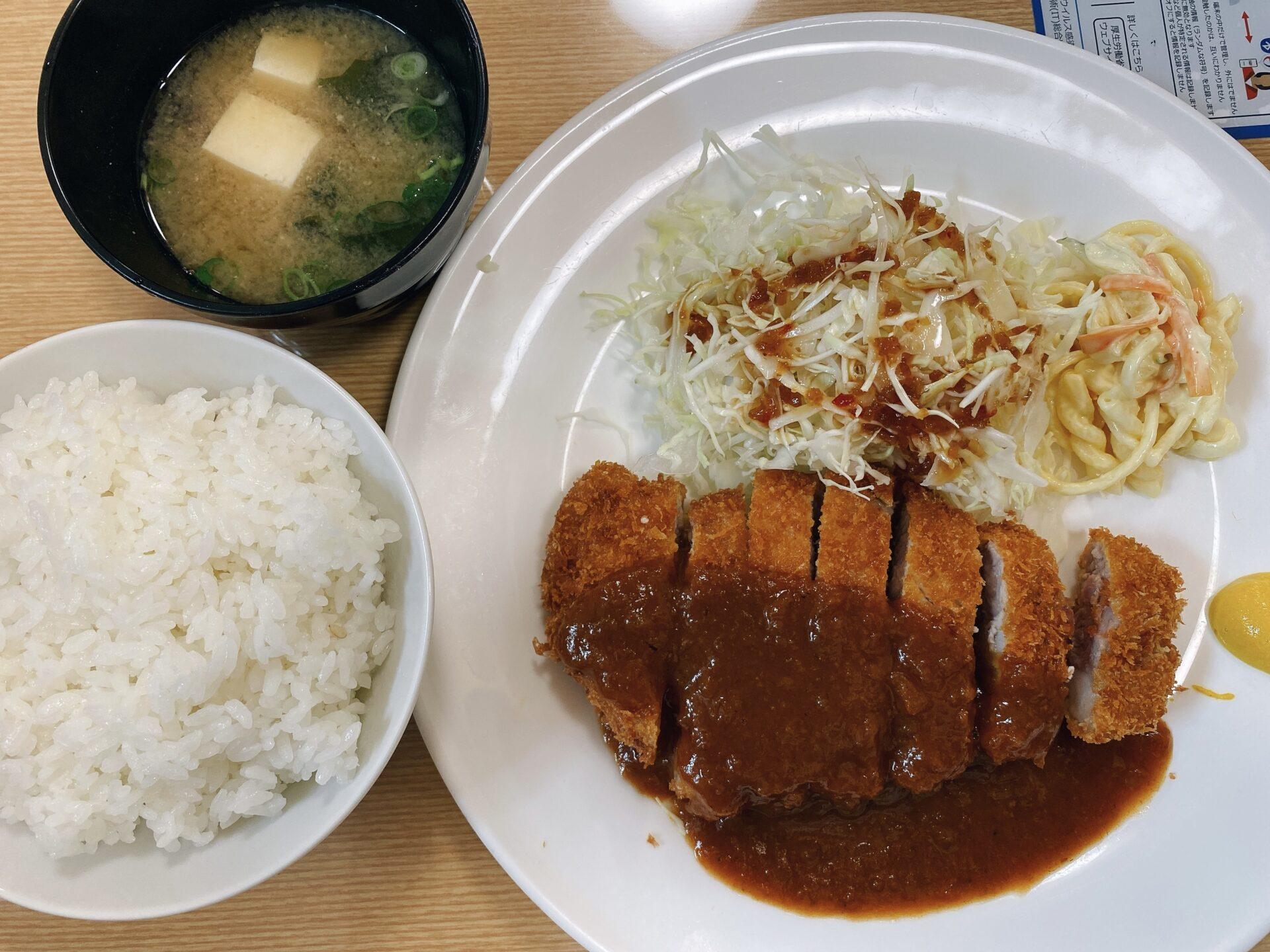 西大寺駅から車で7分【どんQ 金岡西町店】初訪問で頂いたのは黒豚とんかつ定食!