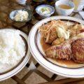 岡山市東区【和風レストラン みやけ】エビフライ&ポークステーキのスペシャルメニューをオーダー!